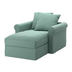 GRÖNLID - Chaise longue, Ljungen light green
