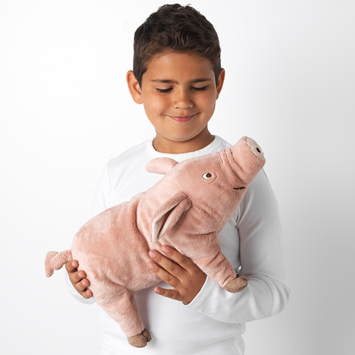 KNORRIG - soft toy, pig/pink   IKEA Indonesia - PE611122_S4