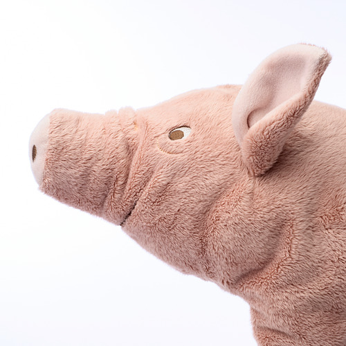 KNORRIG - soft toy, pig/pink   IKEA Indonesia - PE611235_S4