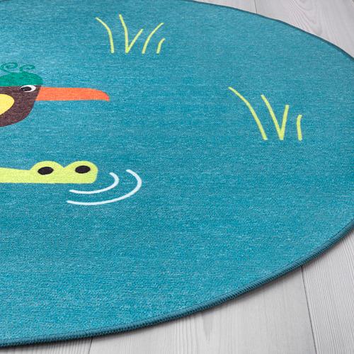 DJUNGELSKOG karpet, anyaman datar
