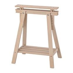 MITTBACK - Penyangga, kayu birch, 58x70/93 cm