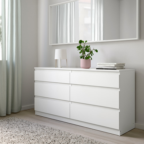 KULLEN - lemari 6 laci, putih, 140x72 cm | IKEA Indonesia - PE758820_S4