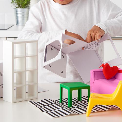HUSET - doll's furniture, living-room | IKEA Indonesia - PE611076_S4