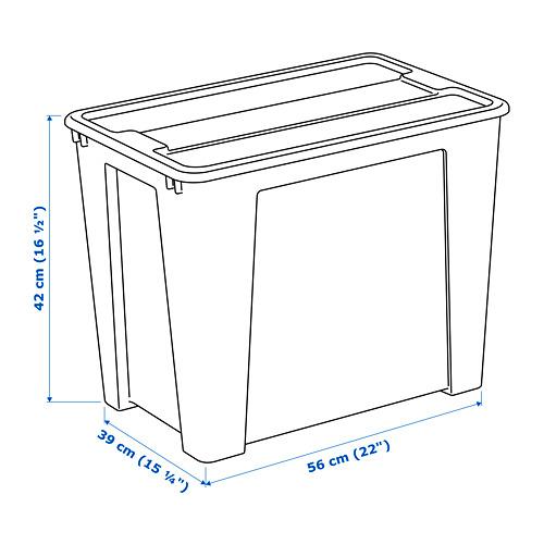 SAMLA kotak