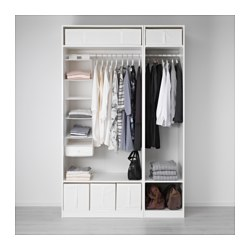 Pax Wardrobe White Ikea Indonesia