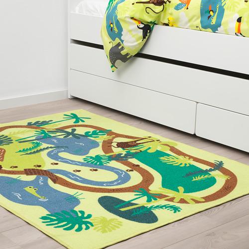 DJUNGELSKOG karpet, bulu tipis