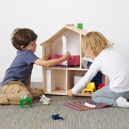 FLISAT rumah boneka/rak dinding