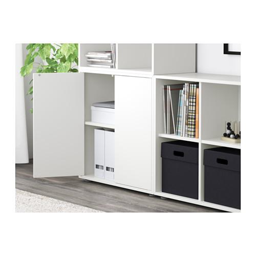 EKET - kombinasi kabinet dengan kaki, putih, 210x35x142 cm   IKEA Indonesia - PE617682_S4