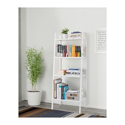 LERBERG - Shelf unit, white