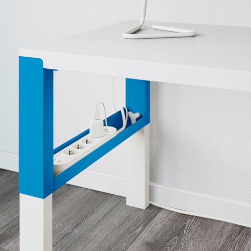 PÅHL meja dengan unit tambahan