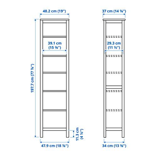 HEMNES bookcase