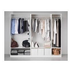 PAX - Wardrobe, white