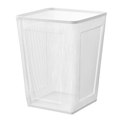 DRÖNJÖNS - Keranjang sampah, putih