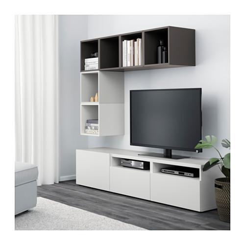 EKET/BESTÅ kombinasi kabinet TV