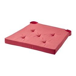 JUSTINA - Alas kursi, merah