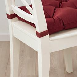 MALINDA - Bantal kursi, cokelat-merah tua