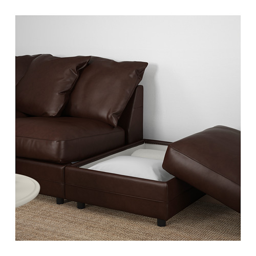 GRÖNLID sofa sudut, 4 dudukan
