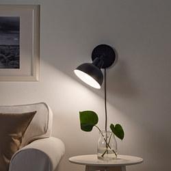 SKURUP - SKURUP, lampu atas dinding/meja, hitam