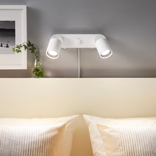 NYMÅNE lampu dinding dobel