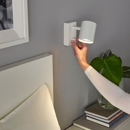 NYMÅNE lampu dinding/baca, pmsgn kabel