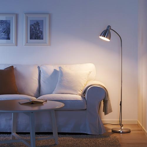 LERSTA - lampu lantai/baca, aluminium | IKEA Indonesia - PE611365_S4