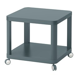 TINGBY - Meja samping beroda, toska