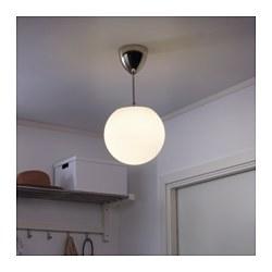 HÖLJES - Lampu gantung sorot, putih