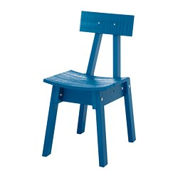 INDUSTRIELL - Chair, medium blue