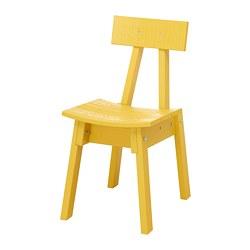 INDUSTRIELL - Chair, yellow