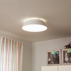 FUBBLA - Lampu plafon LED, putih