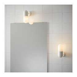 ÖSTANÅ - Lampu dinding, putih