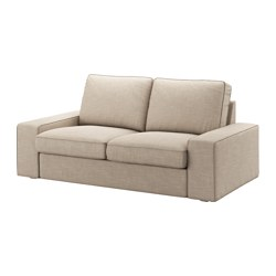 KIVIK - Sofa 2 dudukan, Hillared krem