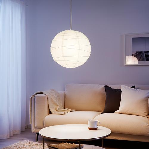 REGOLIT - pendant lamp shade, white/handmade, 45 cm | IKEA Indonesia - PE613096_S4