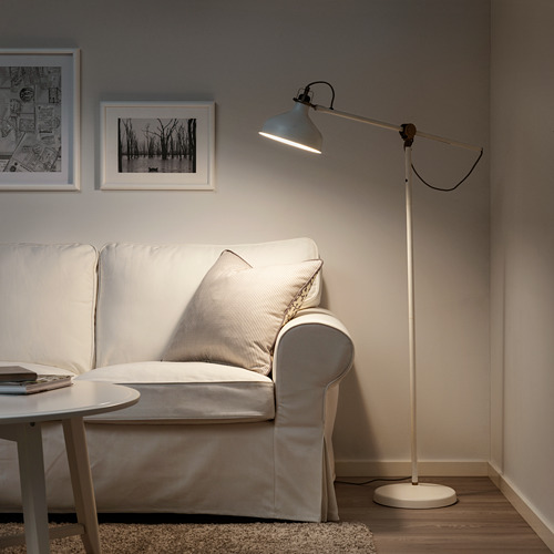 RANARP - lampu lantai/baca, putih pudar | IKEA Indonesia - PE654345_S4