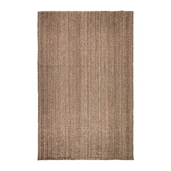 LOHALS - Rug, flatwoven, natural