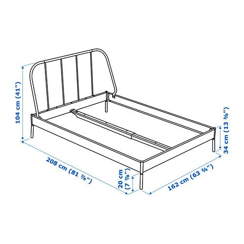 KOPARDAL rangka tempat tidur
