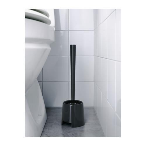 BOLMEN tempat dan sikat toilet