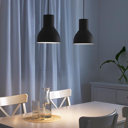 HEKTAR - lampu gantung, abu-abu tua, 22 cm | IKEA Indonesia - PE613970_S4