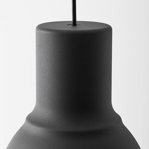 HEKTAR - lampu gantung, abu-abu tua, 22 cm | IKEA Indonesia - PE615290_S4