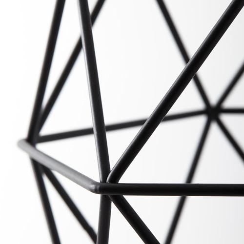BRUNSTA - pendant lamp shade, black, 20 cm | IKEA Indonesia - PE615842_S4
