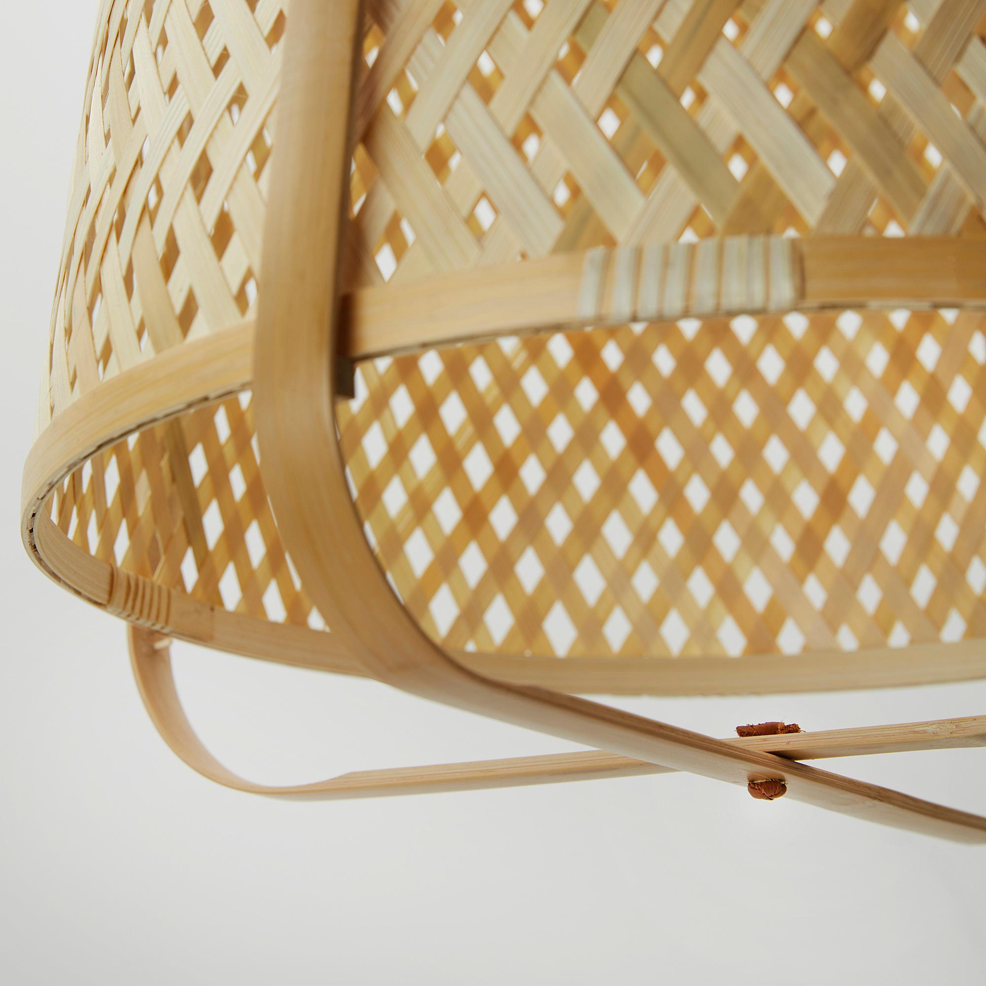 KNIXHULT pendant lamp, bamboo   IKEA Indonesia