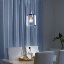 KLOVAN - Kap lampu gantung, kaca bening