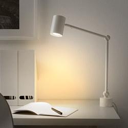 NYMÅNE - Lampu kerja/dinding, putih