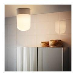ÖSTANÅ - Lampu plafon/dinding, putih