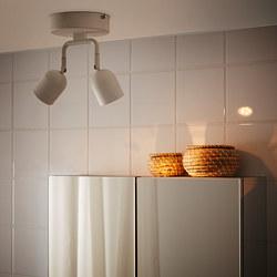 ÖSTANÅ - Lampu sorot plafon, putih