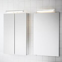 ÖSTANÅ - Lampu LED kabinet/dinding, dilapisi krom