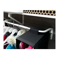 MULIG - Batang untuk gantungan pakaian, putih
