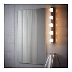 LEDSJÖ - Lampu dinding LED, baja tahan karat