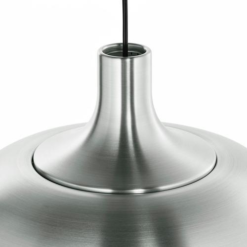 VÄXJÖ - lampu gantung, warna aluminium, 38 cm   IKEA Indonesia - PE760906_S4