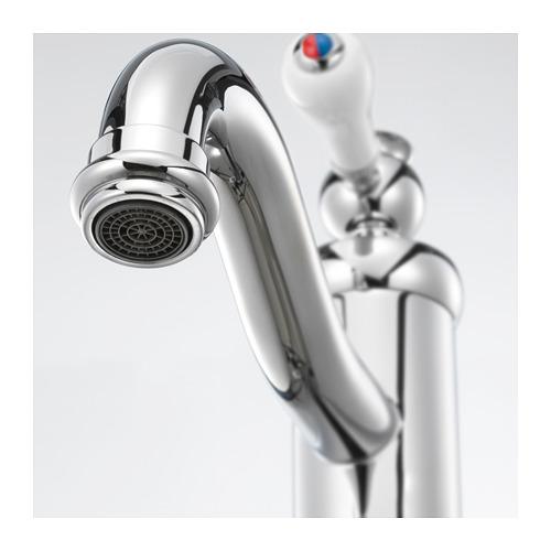 HAMNSKÄR wash-basin mixer tap with strainer